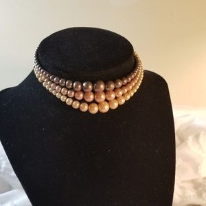 Vintage beaded necklace/choker